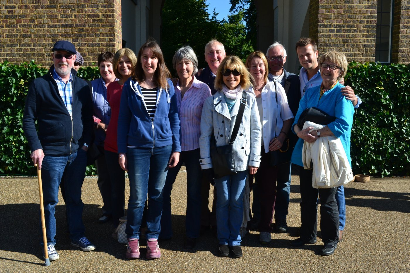 The Bookham Support Group on a day out to Polesden Lacey.